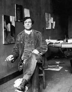 Amedeo Modigliani Italian painter and sculptor (1884-1920)