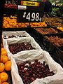 American Cherries in supermarket.JPG