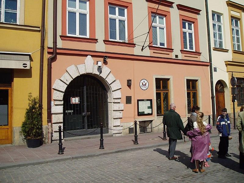 File:American Consulate in Krakow.jpg