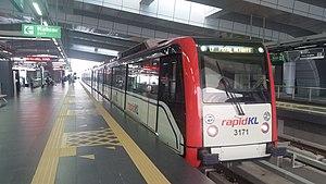 Ampang Line LRT train