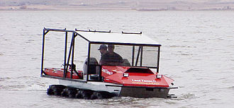 Amphibious ATV - Land Tamer amphibious 8x8 remote access vehicle for disaster relief