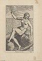 """Amphitrite Fait partie du recueil """"Nimpharum oceanitidum, ephydridum potamidum, naiadum, lynadumque icones"""" - Pl. 1 1587 print by Philip Galle, S.V 88389, Prints Department, Royal Library of Belgium.jpg"""