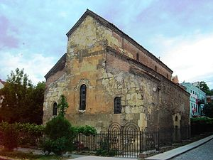 History of Tbilisi - The Anchiskhati Basilica, Tbilisi's oldest surviving church, from the 6th century