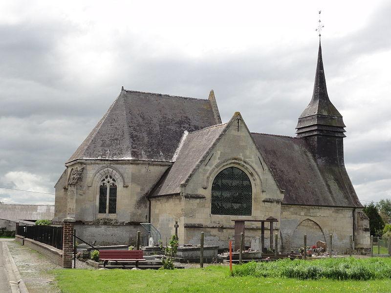 Andelain (Aisne) Église Saint-Denis