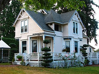 National Register of Historic Places listings in Multnomah County, Oregon - Image: Anderson House Gresham Oregon