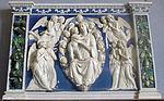 Andrea della robbia (bottega), madonna col bambino e angeli.JPG