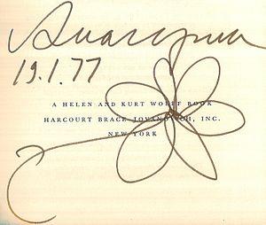 Andrei Amalrik - Image: Andrei Amalrik signature