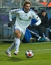 Andrij Ševčenko con la maglia della Dinamo Kiev nel 2009