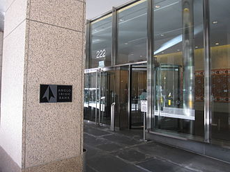 Anglo Irish Bank - Anglo Irish Bank branch in New York's Midtown