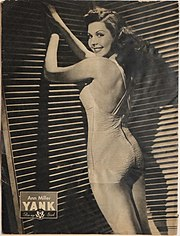 Ann Miller pin-up from Yank,The Army Weekly, June 1945.jpg