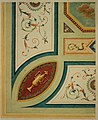 Anoniem, Detailontwerp voor de versiering van een plafond in neo-classicistische stijl - Ébauche détaillée de décoration d'un plafond dans le style néoclassique, KBS-FRB (CVH 475-7).jpg