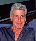 """Tony"" Bourdain on WNYC television"