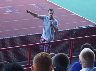 Anthony Curcio - Curcio speaking to college football players (August 2014)