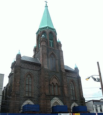 The Village, Jersey City - St. Anthony of Padua Roman Catholic Church at 457 Monmouth St.