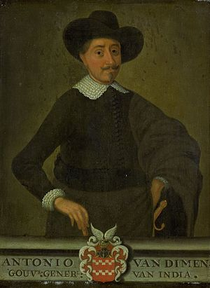 Anthony van Diemen - Portrait of Anthony van Diemen
