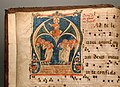 Antifonario graduale, 1257, da s. michele a volterra 02.jpg