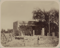 Antiquities of Samarkand. Mosque of Khodzha Akhrar. General View of the Crypt of Saint Khodzha Akhrar and the Mosque WDL3743.png