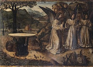 Visit of the three angels to Abraham