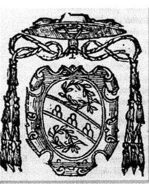 Antonio Maria Ciocchi del Monte - Coat of arms of Cardinal Antonio Maria Ciocchi del Monte