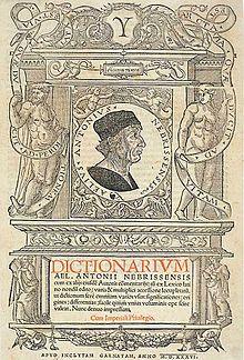 de Nebrija cover