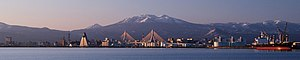 Hakkōda Mountains - Image: Aomori bay 2007 APR cropped