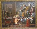Aparició de sant Pere i sant Pau a l'emperador Constantí, Jeroni Jacint Espinosa, museu de Belles Arts de València.JPG