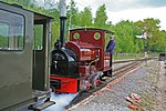 Apedale Valley Light Railway - visiting locomotive (geograph 4482989).jpg