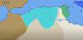Apogée sultanat Hammadide (1103).png
