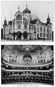 Apollo-Theater Düsseldorf Architekt Hermann vom Endt Düsseldorf
