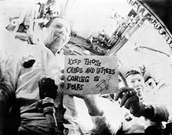 Apollo 7 during the first live television transmission from space.jpg