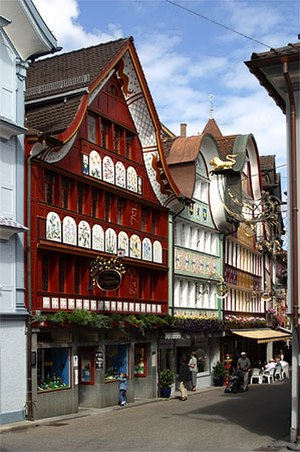 Appenzell (town) - The town centre