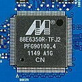 Apple AirPort Extreme Base Station (A1408) - controller board - Marvell 88E6350R-TFJ2-0209.jpg