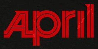 April (Finnish band) - Image: April logo
