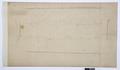 Arbetsritningar, fastigheten nr 4 Hamngatan. Sockel i ingångsporten - Hallwylska museet - 105302.tif