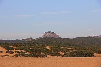 Mount Arcuentu - Image: Arbus Monte Arcuentu (01)