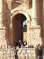 Arch of Hadrian. Jerash, Jordan 18.JPG
