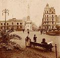 Archivo General de la Nación Argentina 1890 aprox Buenos Aires, Plaza de Mayo.jpg
