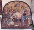 Arcispedale di santa maria nuova, portico restaurato, annunciazione di taddeo zuccari, 1560 ca. 01.JPG