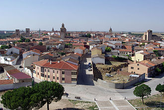 Arévalo - Arévalo as seen from the Castle.