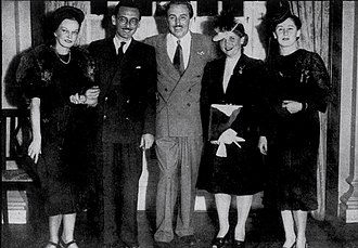 Ary Barroso - Ary Barroso with Walt Disney in Brazil (1942)