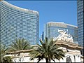 Aria hotel seen from Monte Carlo Casino Entrance, Las Vegas, NV - panoramio.jpg