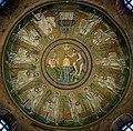 Arian Baptistry ceiling mosaic - Ravenna.jpg