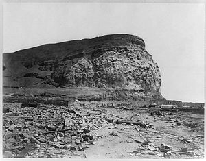 Arica after the earthquake (1868)