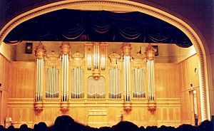 Aristide Cavaillé-Coll - Organ of the Grand Hall of the Moscow Conservatory