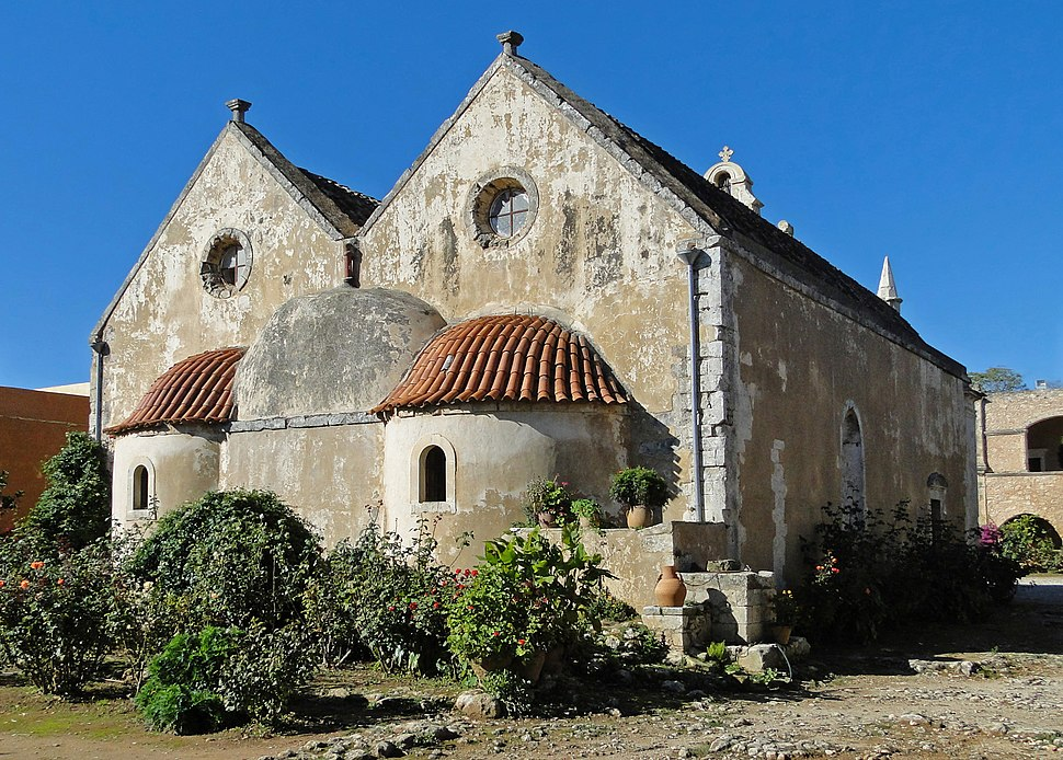 Arkadi Monastery - Apses of the church