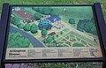 Arlington House - signage at NE edge of Flower Garden - 2011.jpg