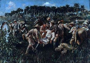 Cuban War of Independence - Death of Maceo in 1896
