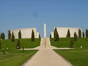 English: View of Armed Forces Memorial at the ...