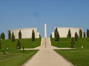 National Memorial Arboretum - Image: Armed Forces Memorial general view