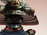 Armour of Kato clan - mask and helmet 02.jpg